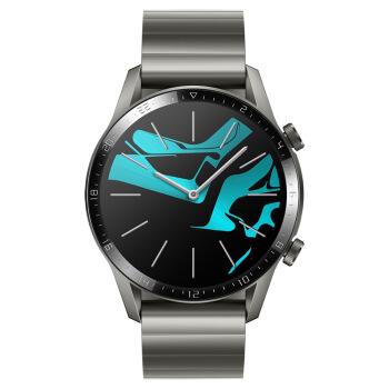 HUAWEI 华为 新品发售:WATCH GT2(46mm)钛银灰 华为智能手表