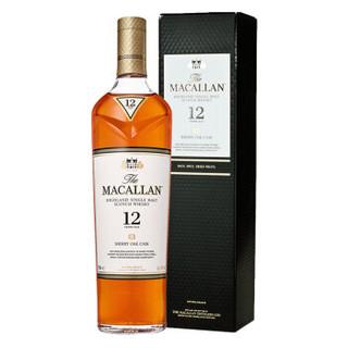 Macallan 麦卡伦 12年 单一麦芽苏格兰威士忌 700ml