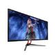 SANC 34英寸显示器 准4K带鱼屏  原生10bit面板  21:9超宽75Hz游戏电脑显示屏 34英寸 1599元