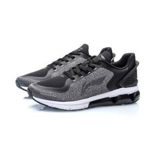 李宁 LI-NING 男子减震跑鞋ARHP219-1 标准黑-1  42