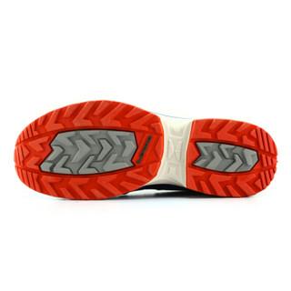 LOWA 德国 户外越野跑步透气运动鞋 INNOX EVO Q3 L进口男款低帮 L310700 蓝色/红色 41