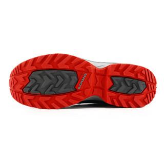 LOWA 德国 户外越野跑步透气运动鞋 INNOX EVO Q3 L进口男款低帮 L310700 黑色/红色 42