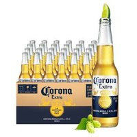 科罗娜(Corona)墨西哥风味拉格啤酒 国产特级啤酒 330ml*4*6瓶