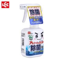 丽固LEC 厨房除菌油污清洁剂喷雾320ml 日本进口电解水 天然杀菌抑菌剂 餐具锅具奶瓶奶嘴玩具 *6件