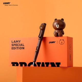 LAMY 凌美 LINE FRIENDS 莎莉布朗熊钢笔礼盒套装