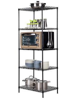 心家宜 厨房置物架 钨金钢3层 长54宽29