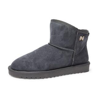 美特斯邦威 605069 女士雪地靴