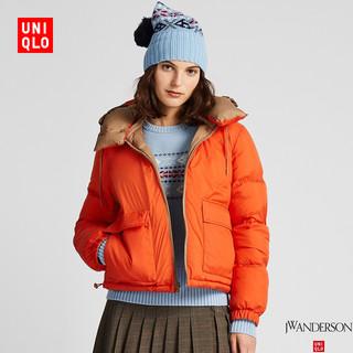 UNIQLO 优衣库 421646 女士两面穿羽绒茄克