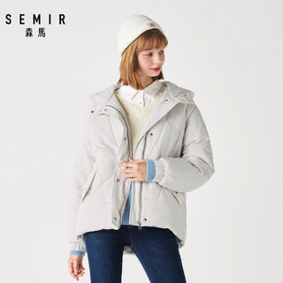 Semir 森马 19-079120326 女士短款棉服
