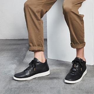 YANXUAN 网易严选 系带平底男士休闲鞋板鞋 1647037 黑色 38