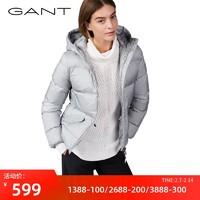 GANT 甘特 4700000 女士短款羽绒服 蓝色 L