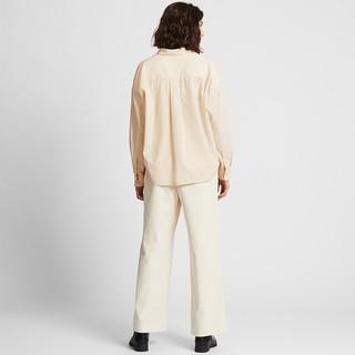 UNIQLO 优衣库 420563 女款灯芯绒半开领上衣