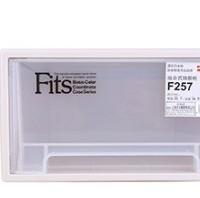 Tenma 组合抽屉柜 杂物贮存 稳固耐用 半透明抽屉储物柜 收纳柜  F257 25.7*36.9*14.6cm *3件