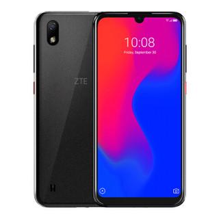 中兴ZTE Blade A7 水滴全面屏 2GB+32GB极夜黑 1600万高清后摄 全网通4G手机 双卡双待