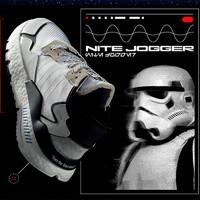 adidas 阿迪达斯 三叶草 X STAR WARS NITE JOGGER 男女款运动鞋
