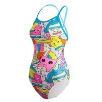 hosa 浩沙 218111308 卡通风格 女士连体泳衣 *3件