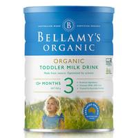 BELLAMY'S 贝拉米 有机婴儿奶粉 3段 900g(12个月以上)*3罐