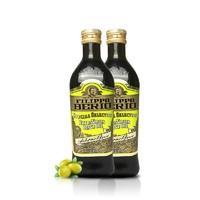 FILIPPO BERIO 优选系列 特级初榨橄榄食用油 750ml*2瓶