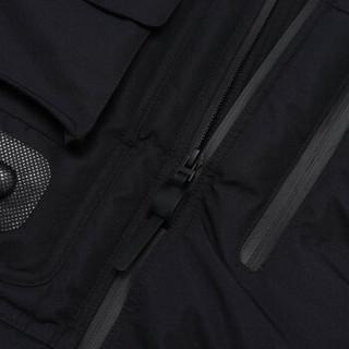 李宁 LI-NINGCOUNTERFLOW溯联名款纽约时装周走秀系列曜变天目男女同款长羽绒服AYMP159-2 标准黑-2 M