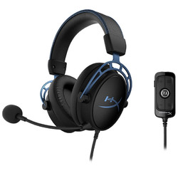 HYPERX Cloud Alpha S 阿尔法加强版 头戴式 游戏耳机 黑色