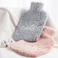 MINISO 名创优品 注水热水袋 针织防烫套 1.8L