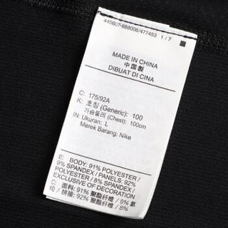 耐克NIKE 男子 紧身衣 健身 NP TOP LS SLIM 长袖T袖 BV5595-010黑色L码