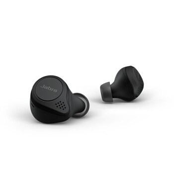 Jabra 捷波朗 Elite 75t真无线耳机 入耳式运动耳机耳麦通话蓝牙耳机防水防尘 黑色