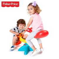 Fisher-Price 费雪  儿童超萌鲸鱼摇摆乐跷跷板