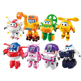 AULDEY 奥迪双钻 超级飞侠变形机器人 全明星团队 8只装