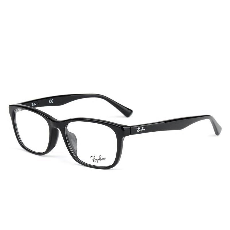 Ray-Ban 雷朋 黑框板材镜框 RX5315 黑色