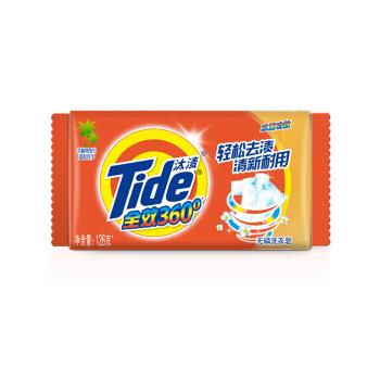 汰渍 全效360度洗衣皂 126g*10