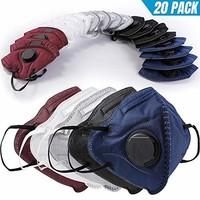 11日上新 BC N95 口罩20个 带呼吸阀
