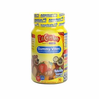 L'il Critters 儿童辅食复合多种维生素小熊糖 70粒