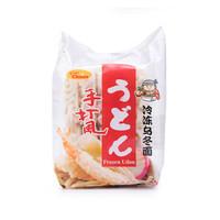 亚洲优选(Asian Choice)冷冻乌冬面 1.25kg(250g*5块)日本原装进口