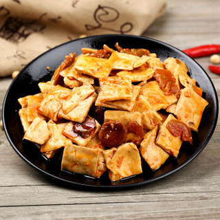 有友重庆特产泡椒花生 泡椒竹笋 豆干零食组合休闲零食小吃有食素486g