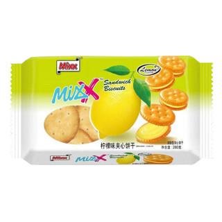 Mixx 柠檬味夹心饼干蛋糕早餐休闲零食280g
