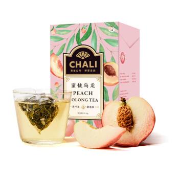 chali 茶里 蜜桃乌龙茶 15包