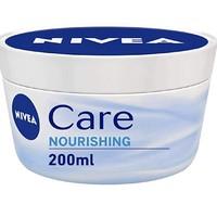 NIVEA 妮维雅 NIVEA Care 深润保湿乳霜 200ml*4