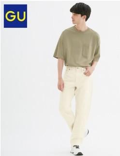 GU 极优 317362 男装经典牛仔裤