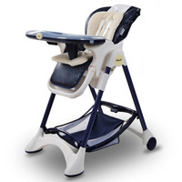 Pouch 帛琦 K05 K05 多功能儿童餐椅 藏青色