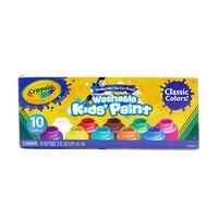 Crayola 绘儿乐 10色幼儿可水洗颜料