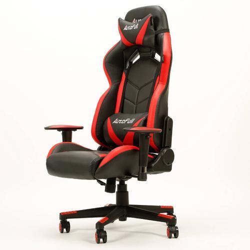 AutoFull 傲风 人体工学电脑椅电竞椅 荣耀之盾 黑红色