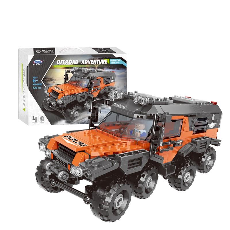星堡积木 超级汽车系列 03027 超级全地形车