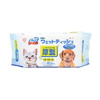 88VIP : IRIS 爱丽思 厚型 宠物消毒湿巾 80抽*4包