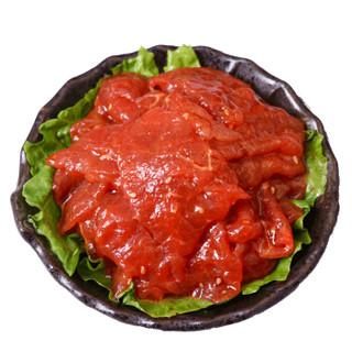 小卓 火锅麻辣牛肉片150g 生鲜原切调理麻辣牛肉 四川涮火锅食材 配菜 蔬菜