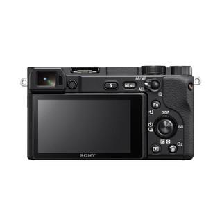 索尼(SONY)Alpha 6400 APS-C微单数码相机 Vlog 4K视频 标准镜头套装 黑色(16-70mmF4 蔡司镜头 a6400)