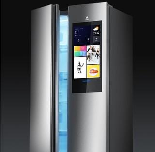 VIOMI 云米 BCD-450WMLA 变频 对开门冰箱 450L 银色