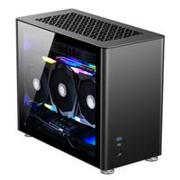 JONSBO 乔思伯 A4 Ver1.1版本 ITX机箱 黑色