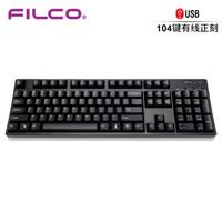 FILCO 斐尔可 104键圣手二代机械键盘 黑色 青轴