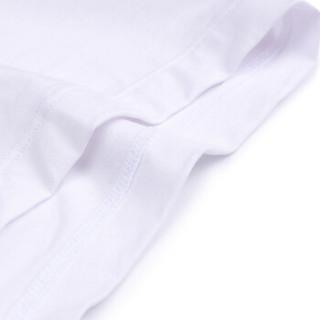 爱慕先生内衣优享莫代尔男士中腰平角内裤男式纯色 NS23U51白色180/L